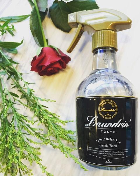室內芳香/日本Laundrin 香水芳香噴霧 經典花香
