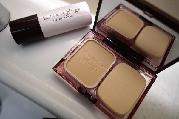 Ange漾緁 控油瓷效妝前隔離乳X輕妝綺肌長效粉餅
