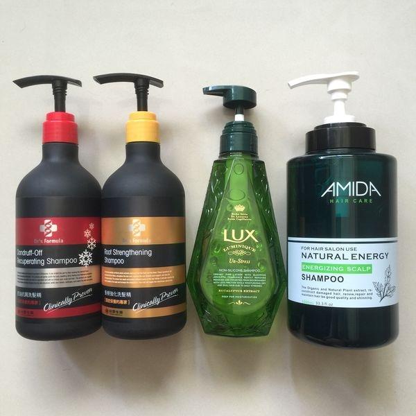 最近使用中的開架洗髮精
