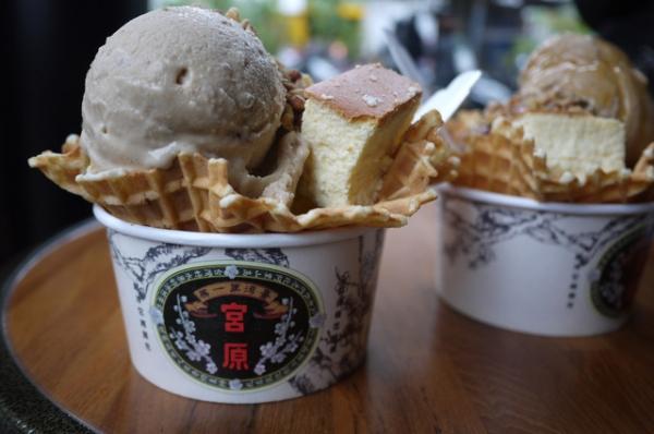 台中 宮原眼科冰淇淋