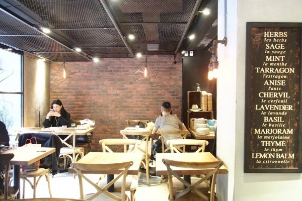 吃東區/ Miacucina復興店  好喜歡啊蔬食餐廳!!!!