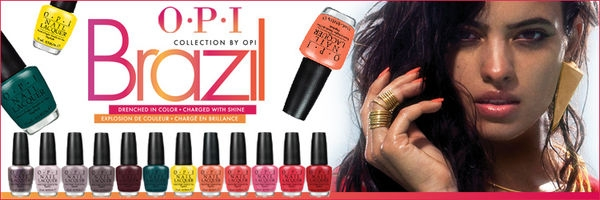 OPI 巴西誘色春夏系列 OPI Brazil Collection For Spring/Summer 2014