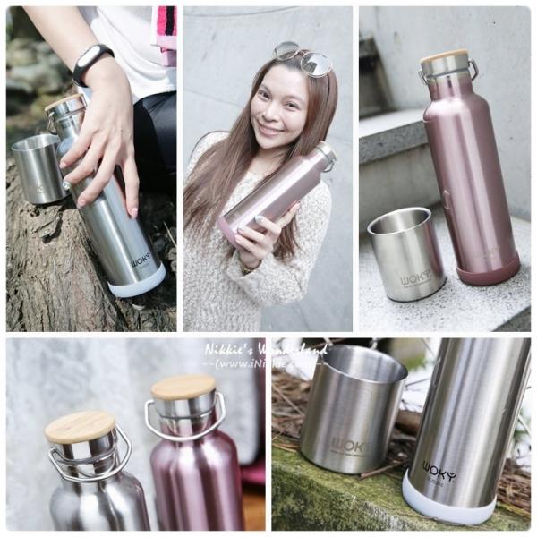 【。(生活) WOKY沃廚 頂級316不鏽鋼 運動保冰/保溫瓶~ 水瓶也要極簡質感工業風!*】