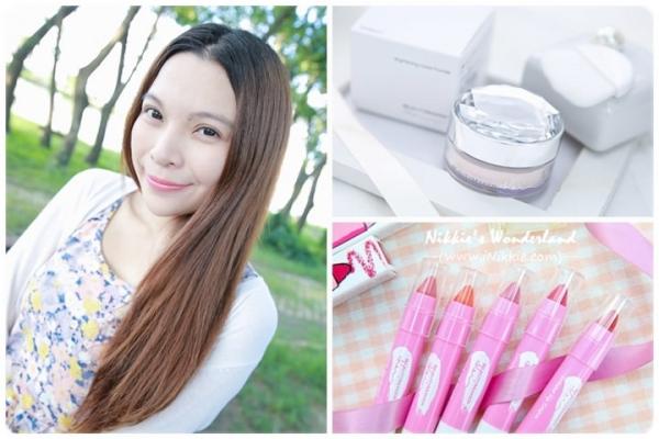 【。(彩妝) BeautyMaker 冰紛淨白水蜜粉+唇唇欲動超顯色Q唇筆~ 夏日涼爽的清新豔色!*】