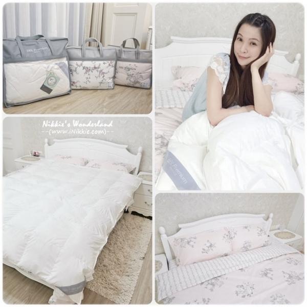 【寢具】BBL Premium限時優惠!! 雙人羽絨冬被、秋冬100%精梳棉兩用被床組~ 超美的法式床組新入替!