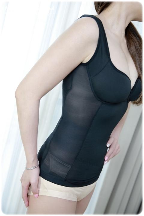 Beaulace薄蕾絲嚴選 小姿女孩塑身衣 (寬肩帶)