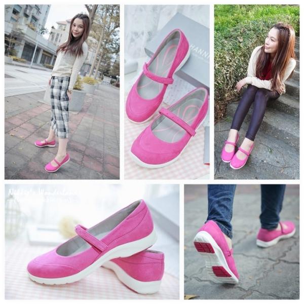 【。(美鞋) HANNFORT EASY WALK輕盈穿梭動能氣墊休閒鞋~ 美型✕機能✕實用的不敗鞋款*】