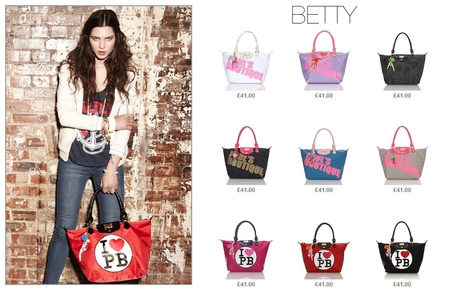英國倫敦當紅Pauls Boutique Betty包-I Love PB
