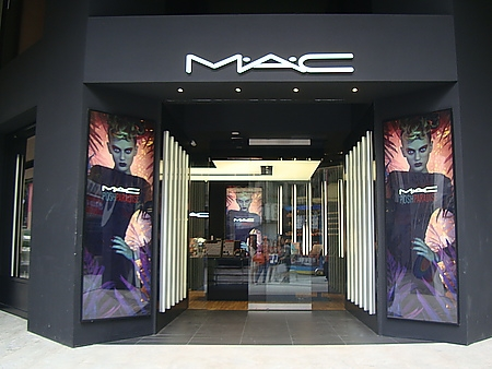 週年慶前做功課的好地方--MAC形象概念店@西門町