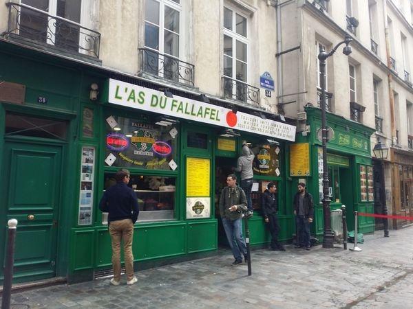 [法國 巴黎] 號稱全世界最好吃的 L'As Du Fallafel+聖路易島必吃Berthillon冰淇淋