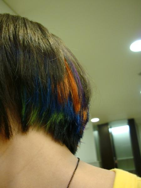 H PARK染髮麻豆-我有一頭很color的炫頭毛!!