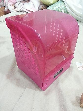 在大創找到紙膠帶的家~紙膠帶收納盒DIY+點點印展示架