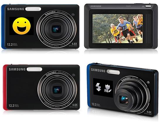天呀~超級生火.....SAMSUNG ST500 雙螢幕完美自拍觸控相機