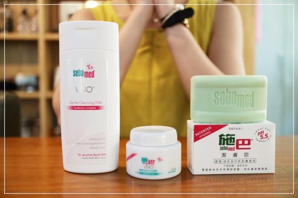讓肌膚保持好酸鹼平衡吧!施巴。從卸妝開始的縮時保養
