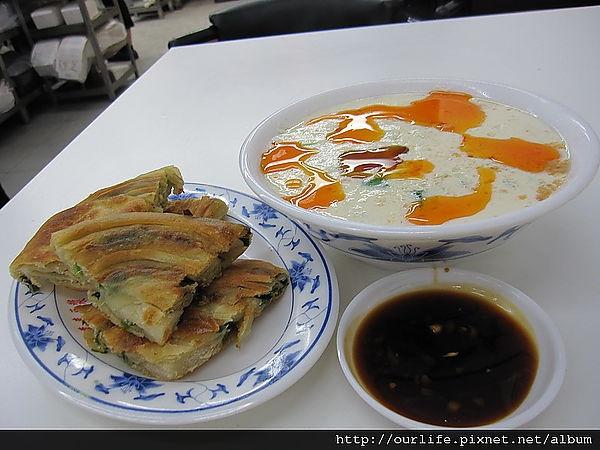 台中.打死賣鹽的葱油餅@台北來來豆漿向上店