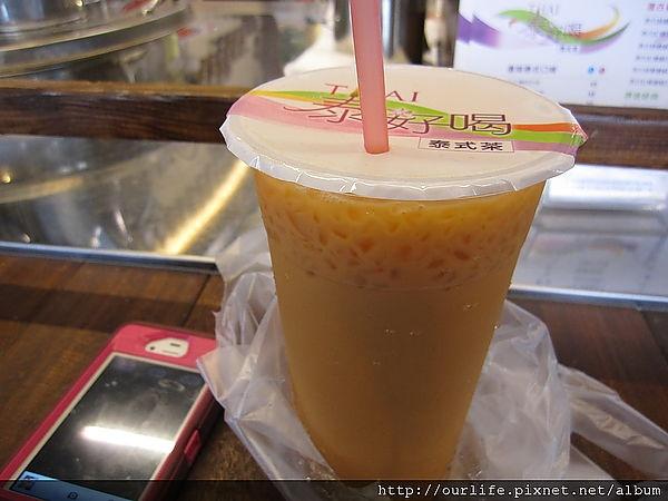 台中.大杯滿意又順滑的手沖泰式奶茶@泰好喝泰式茶(大隆店)