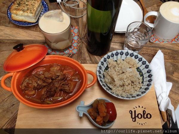 彰化.老宅風貌的美式早午餐/下午茶@YOLO cafe(+wifi)