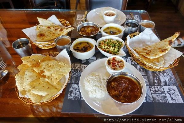 台中北屯.200元正宗道地又便宜的印度咖哩羊肉套餐@甘閣印度料理