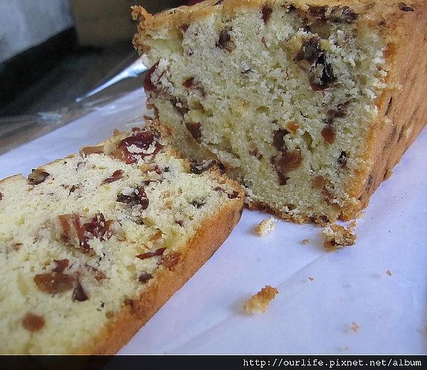 不甜不膩的紫蘇梅歐式手工磅蛋糕@波波諾諾(上)