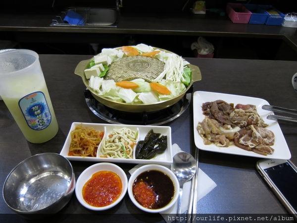 台中北屯.台式韓國銅盤烤肉@銘谷韓式料理