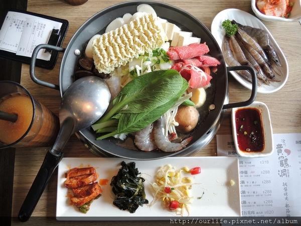 台中北區.268元韓式海陸鍋@黃鶴洞韓式料理中友店
