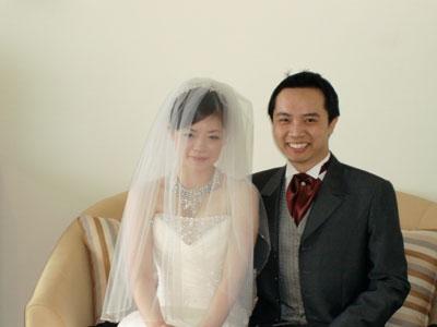 我的Christine meimei結婚了~恭喜