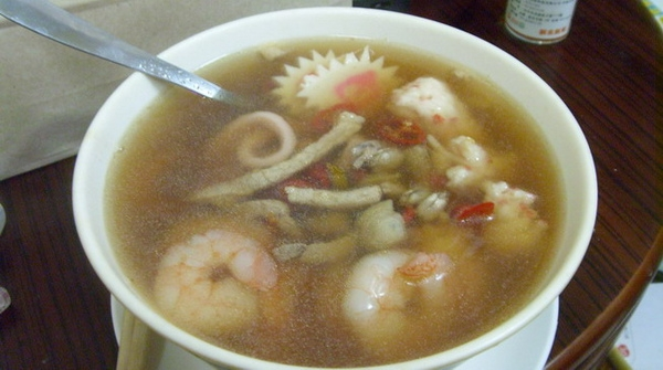 cooking.鍋燒紅麴海鮮烏龍麵