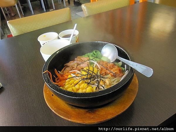 台中.100元韓式碳烤雞肉石鍋拌飯@9食圓餐館