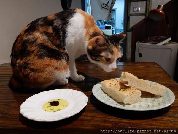 台中西區.與貓共舞的夠味好吃的腦腸蛤蜊義大利麵@吃。東西義式餐廳