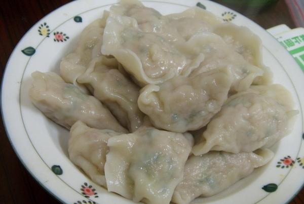 好吃超飽滿的水餃@愛心牌手工水餃