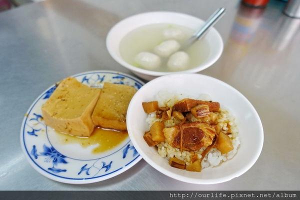 台中北區.鹹香美味價實在的滷肉飯@正滷肉飯