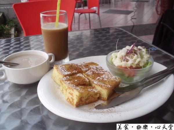 台中經典早午餐.69元超值好吃楓糖肉桂磚@天堂(Heaven)美式早午餐(+wifi)