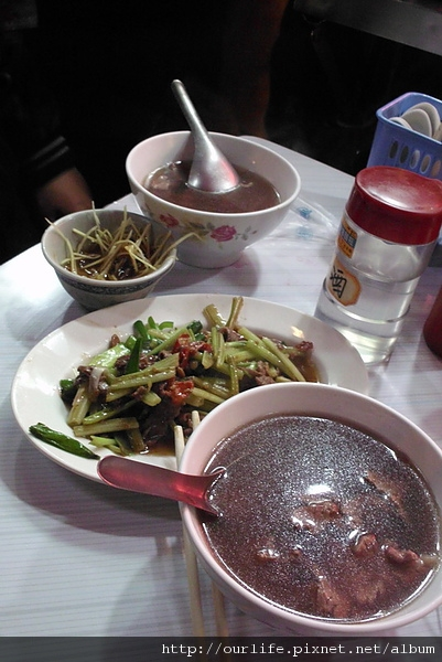 台南.就愛這一味清甜牛肉湯@阿億牛肉城