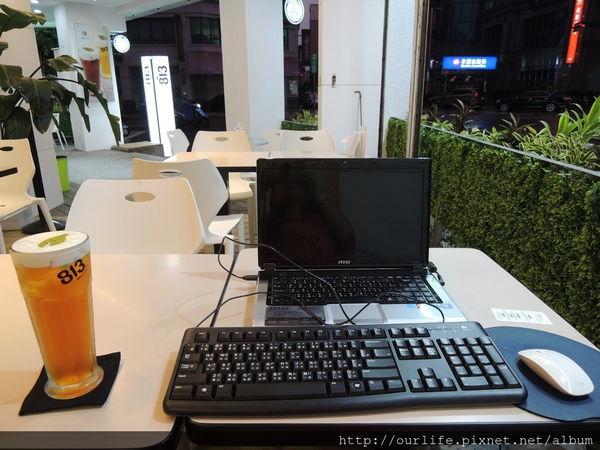 台中.適合聊天用筆電的茶館@813奶緹茶館民權店(+wifi)