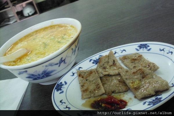 台中.香辣豬排鹹豆漿@漢口路永和豆漿