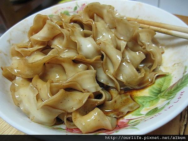 網購.比阿舍好吃的麻辣乾麵@3Q總鋪關廟麵