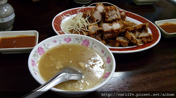 21 July 2010-古早味肉粥+酥脆燒肉@台北周記肉粥店