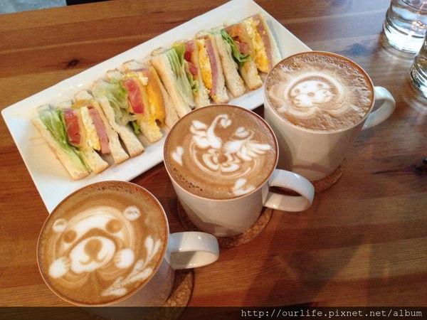 台北永康.驚艷滿滿的傳神拉花咖啡@小米酒cafe(+wifi)