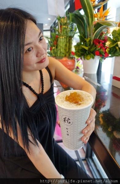 台中水湳.清暑解渴又新鮮的鳳梨青茶/水果茶@秋禾源人文茶飲