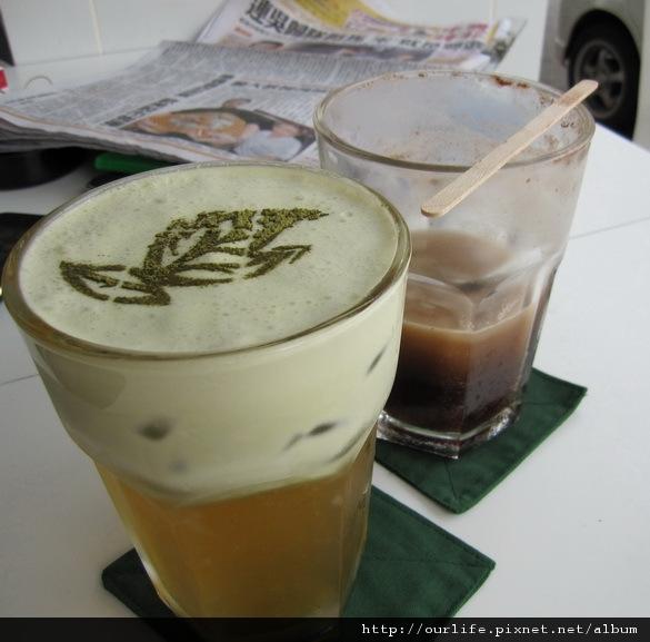 台中.順滑可口的可可歐蕾紅茶@綠歐蕾.茶館(+wifi)