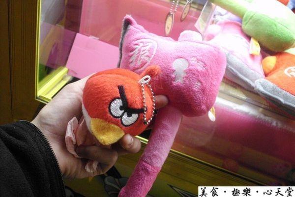 獻寶隨談.angry bird+小三斧頭@旱溪夜市
