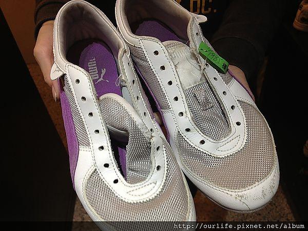 台中.百元洗鞋煥然如新@立芙皮革保飾總匯