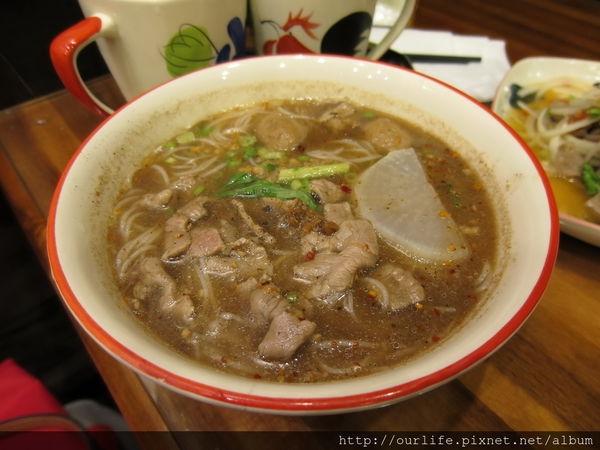 台中南屯.酸中帶辣的開胃泰式牛肉米線湯@泰粉味泰式米粉店