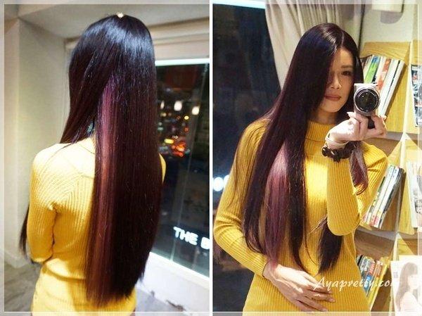 Re Born 髮沙龍 OLAPLEX護髮 氣質黑紫染髮 (32).jpg