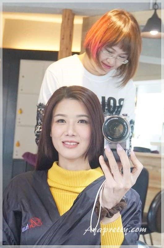 Re Born 髮沙龍 OLAPLEX護髮 氣質黑紫染髮 (11).JPG