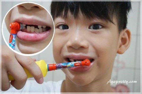 德國百靈Oral-B 海底總動員 D10兒童充電電動牙刷 (24).JPG