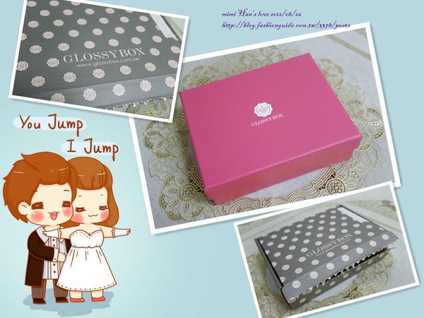 [Lovestory]GLOSSYBOX八月禮盒