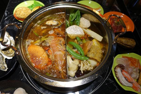 台北聚餐火鍋吃到飽-嗨蝦蝦百匯鍋物吃到飽,罐裝啤酒喝到飽 (39).jpg