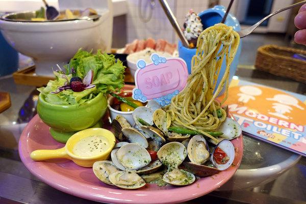 士林打卡餐廳-便所歡樂主題餐廳,士林網美下午茶餐廳 (43).jpg