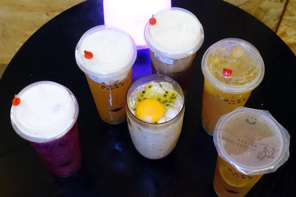 六張犁飲料店-茶山小飲料店,草本機能蛋做的好喝蛋蜜汁 (32).jpg